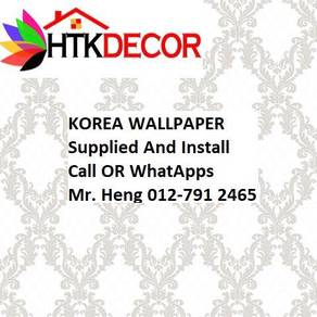 3D Korea Wall Paper with Installation 82MAW
