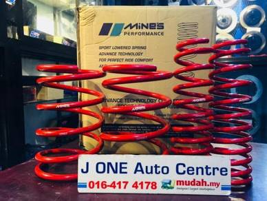 Mines lowered sport spring for honda jazz