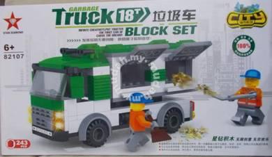Bricks - SD 82107 Garbage Truck building block