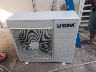 Outdoor Aircond compressor Air cond 2hp.