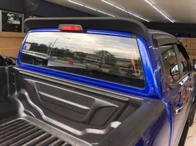 Ford Ranger XLT T6 T7 Spoiler Matt Black ABS