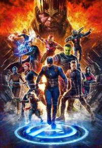 Poster MOVIE AVENGERS WALL A1 DESIGN B