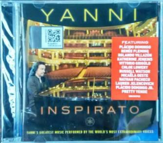 CD YANNI Inspirato