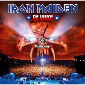 IMPORTED CD IRON MAIDEN En Vivo