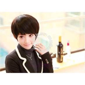 Wig Short Hair Lady Emulation Hair Fashion - LS416