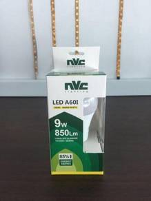 Nvc led lamp a60i 9w 3000k 220-240v