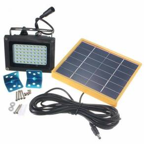 Solar Power 54LEDs Flood Light Waterproof