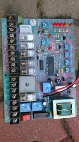 Autogate control panel and control board