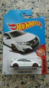HotWheels '16 Honda Civic Type R White