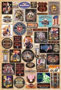 Poster Harley Davidson logo kecil 2