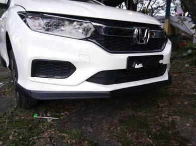 Honda CITY 2017 fl front takero lip VERSION 2