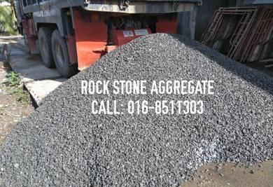Rock stone batu kelikir tanah timbus soil garden