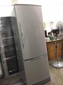Ice Panasonic Refrigerator Silver Peti Sejuk Ais
