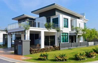 [54x70]Wide Land Corner Lot House in Garden Landscape near Kl