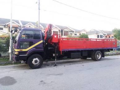 Rental lorry crane