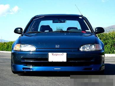 Honda Civic Lip Mugen Spoon Eg6 EG9 Cutting Ori