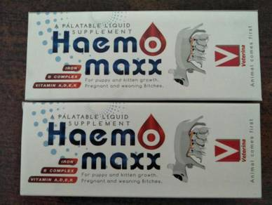 Haem Maxx, supplement for Cats and dogs