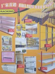 RAK Mini Market, Rak besi,Chiller,Rak kedai runcit
