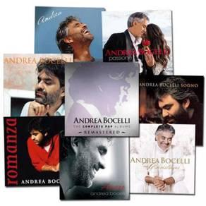 Andrea Bocelli The Complete Pop Vinyl Albums Box S
