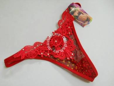 U342-2 Sexy Sheer G-string Women Underwear Floral
