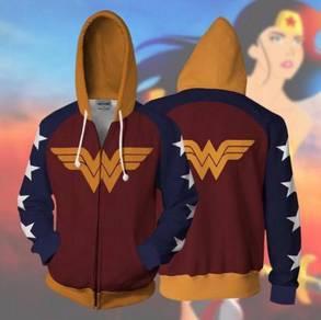Wonder woman hoodie jacket RBT0129