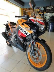 Honda cbr250r repsol abs ninja 250 r25