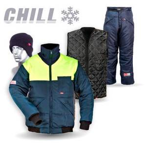 Coldroom chiller jacket - Premium Quality workwear