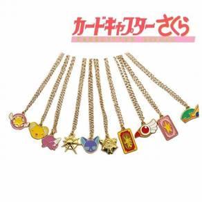 Cardcaptor sakura 10 in 1 set necklace pendant