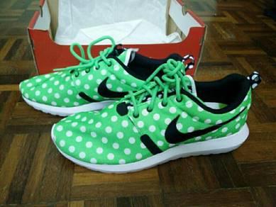 Nike Roshe Polka Dot Green
