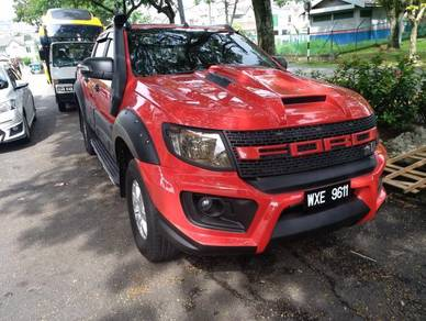 Ford ranger t6 front bumper cover transfomer