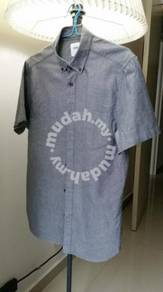 Burton Menswear London (Grey Short Sleeve Shirt)