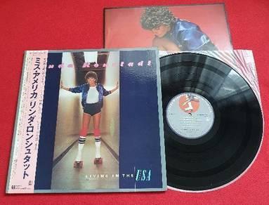 Linda Ronstadt LIVING IN THE USA Japan Vinyl LP