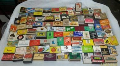 Old Matches Box 100 pcs Variety