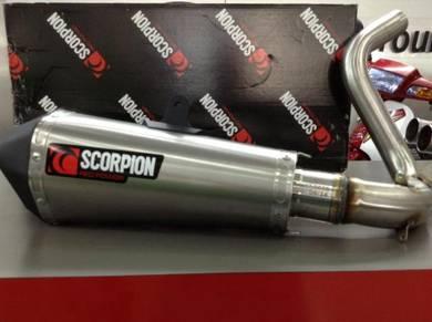 Scorpion Exhaust Slip on KTM Duke 200