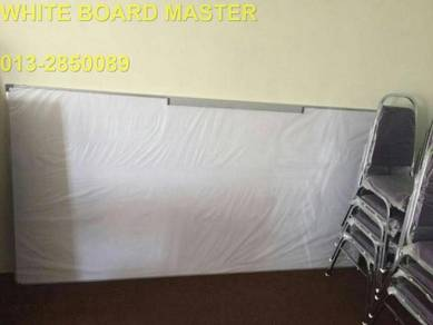Whiteboard 4x5 magnetic siap pasang