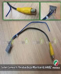 Perodua Myvi Icon Bezza Reverse Rear Camera Socket
