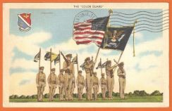 OLD POSTCARD THE CoLoUR GUARD