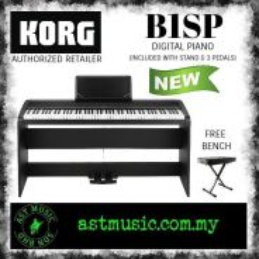 Korg B1sp Digital Piano - White with bench