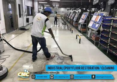 Cleaning Service for Commercial & Industrial
