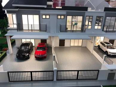 Seremban town superlink 2 storey with large built up sell 435k
