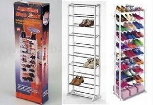 Shoe Rack (10 tier) rak pelbagai guna