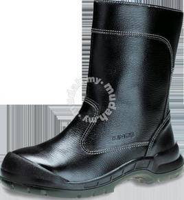 Safety Shoes Kings Men High Cut Black KWD804 Cust