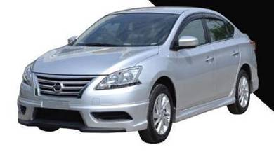 2014 Nissan sylphy bodykit oem with paint spoiler