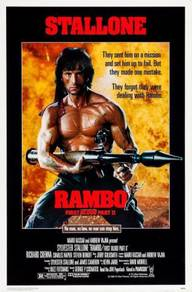 Poster MOVIE Rambo: First Blood Part II (1985) v 2