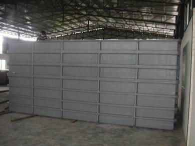 Fiberglass Water Storage Tank