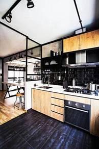Kitchen/wardrobe/tv;hg terus dari kilang 30