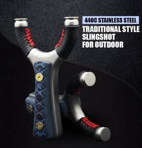 Stainless Steel 440c Slingshot | Lastik Besi