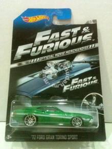 Hotwheels Fast &Furious 72 Ford Gran Torino Sport