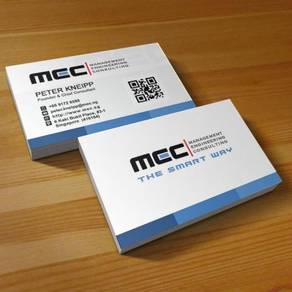 Business card or name card printing include design