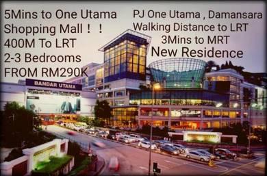 One Utaman Bandar Utaman Damansara Serviced Apartment Residences Condo